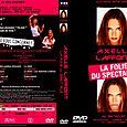 """Axelle Lafont, """"la folie du spectacle"""", jaquette du DVD"""