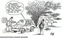 Polluante ma voiture