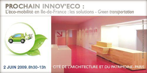 Innov'Eco 2 juin