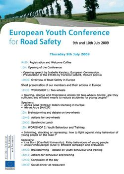 European Youth Network day 1