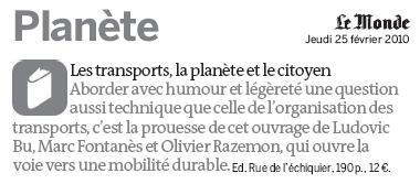 Le Monde - 25 février 2010