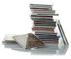 Pile de CD à chroniquer
