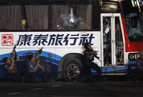 Bus pris en otage à Manille