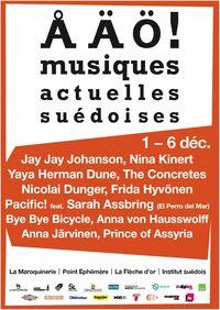 Festival ÅÄÖ - l'affiche générique
