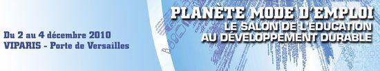 Planète mode d'emploi bandeau