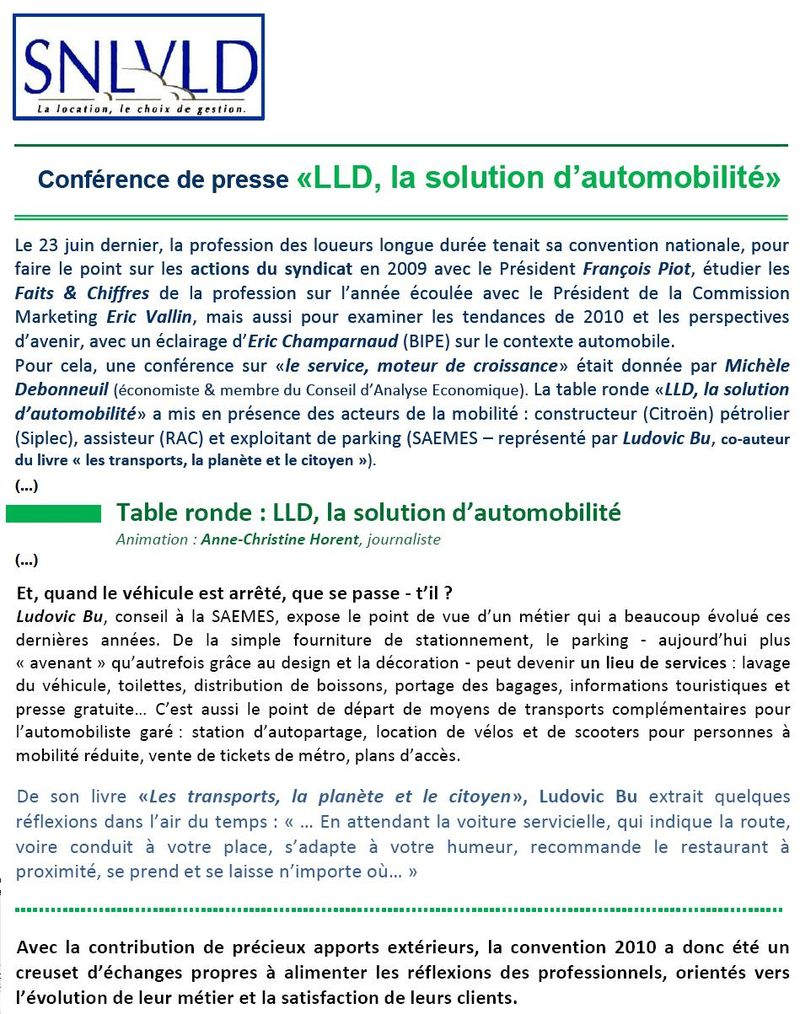 LLD, la solution d'automobilité
