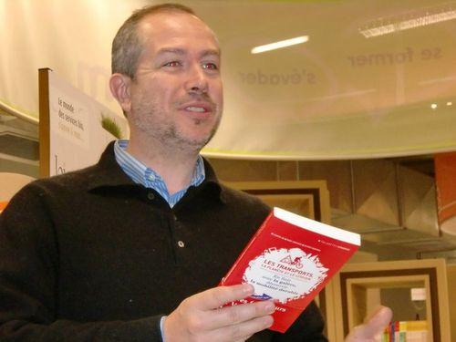 29 12 10 - Conférence La Mobilité Urbaine et les Changements de Comportement chez Altermove (Laurent Meillaud et le livre)