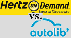 Hertz on demand vs. Autolib