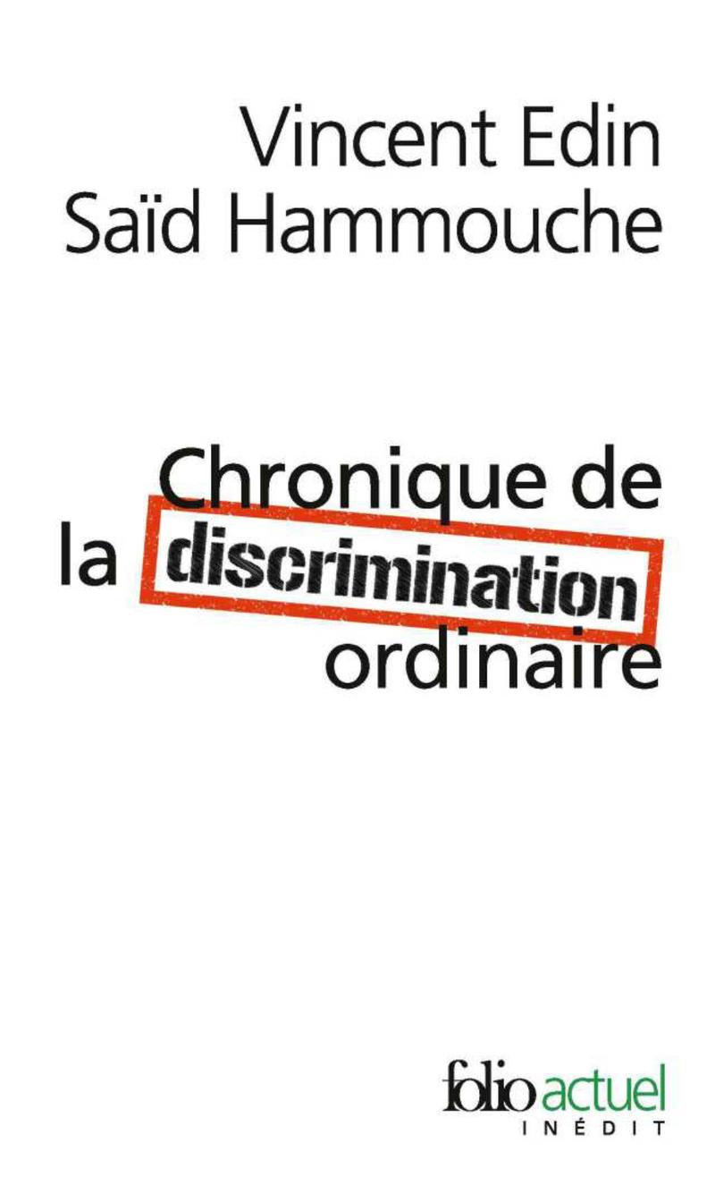 Chronique de la discrimination ordinaire couverture