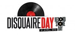 Disquaire Day logo long