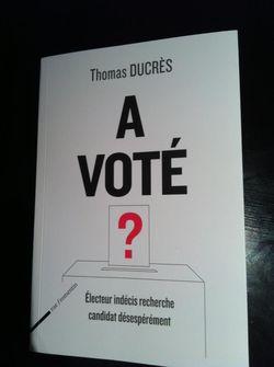 Thomas Ducrès - A voté