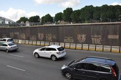 Le diesel tue - Campagne de France Nature Environnement sur les quais de Seine à Paris