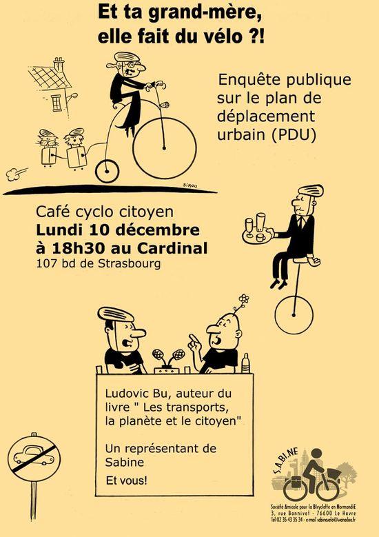 Et ta grand-mère, elle fait du vélo - Le Havre, 10 décembre