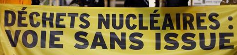 Déchets nucléaires, voie sans issue