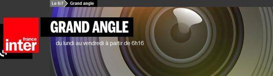 Bandeau Grand Angle France Inter