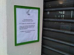 Gare de Drancy fermée aux horaires d'ouverture-20110904-1251