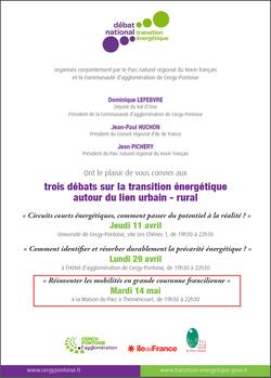 Débats transition énergétique Val d'Oise