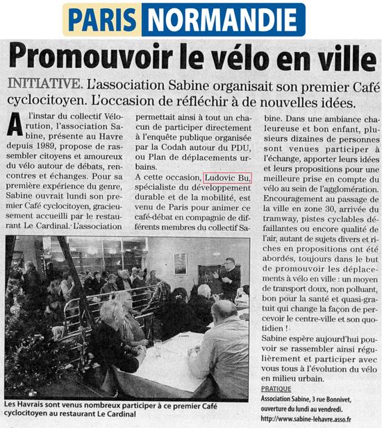Paris Normandie, 12 12 12