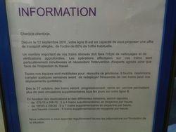 RER B - SNCF Moins de train = mieux... -20111019-0813