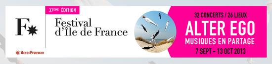 Festival d'Ile de France bandeau