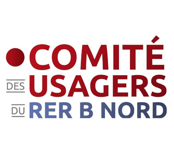 Logo Comité des Usagers du RER B Nord