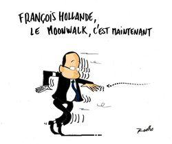 François Hollande Moonwalk Rod Rodho deuxième version