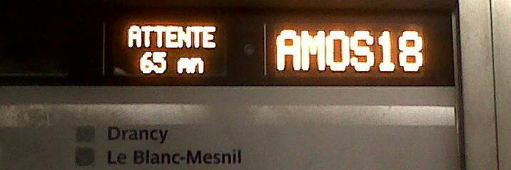 RER B-Attente 65 minutes