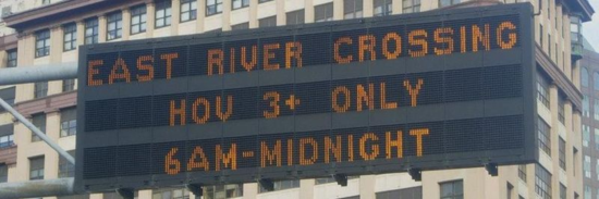 Bandeau - NYC after the flood - Carpooling is mandatory (oct 2012) (photos Odile Beniflah)