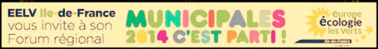 Bandeau EELV Municipales