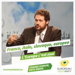 Ludovic Bu - Portrait en vert européen