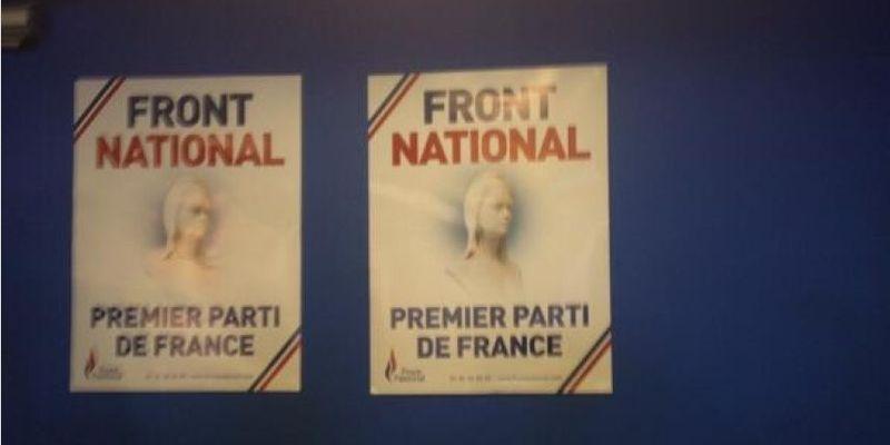 FN Premier parti de France, selon lui (photo Aurélie Herbemont)