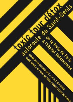 Toxic Tour Detox Autoroute Affiche