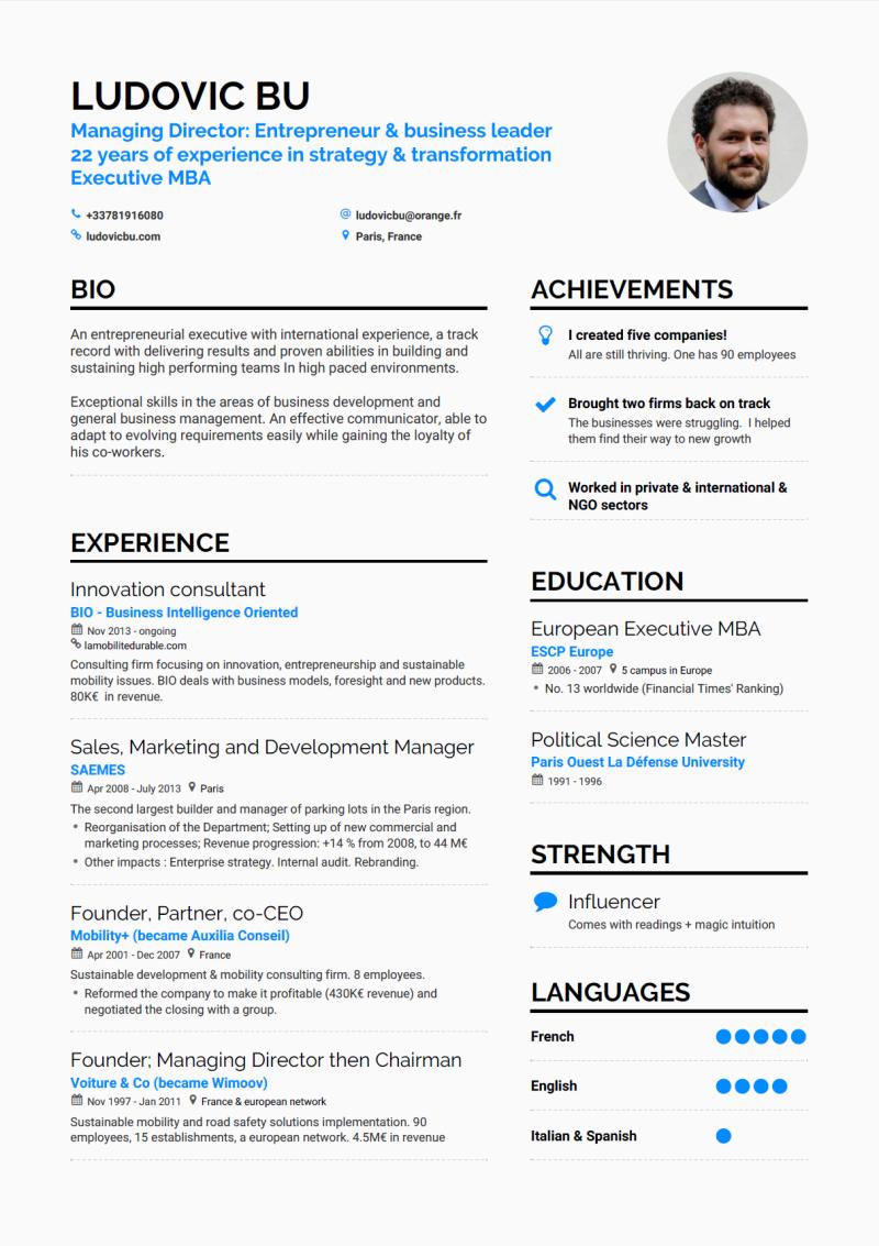 Ludovic Bu's resume  april 2017 (grey) page 1