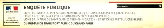 Bandeau concertation lignes 14, 16 et 17