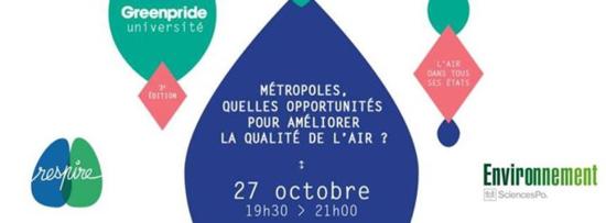 Bandeau métropole qualité air opportunité