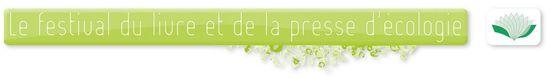 Bandeau Festival de presse et d'écologie