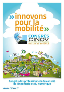 Cinov - Affiche congrès mobilité 2016