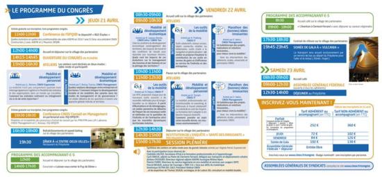 Cinov, le programme completdu Congrès 2016