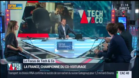BFM TV  la France championne du covoiturage